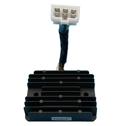 Tuzliufi Replace Voltage Regulator Rectifier Honda Engine GX270 GX440 GX630  GX660 GX690 GXV630 GXV660 GXV690 31750-Z2E-803 6 Wires New Z346 | Honda GX  EngineHonda GX Engine