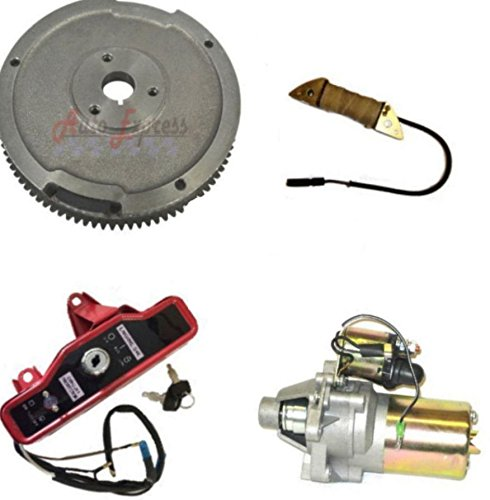 Auto Express New Honda GX160 5.5HP Electric Start KIT Starter Motor  FLYWHEEL ON/Off Switch | Honda GX EngineHonda GX Engine